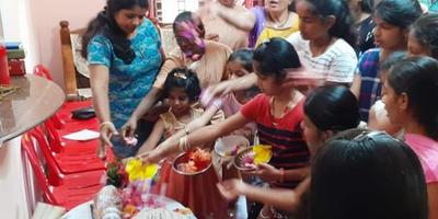 SCC training and monthi fest Celebration at Assumption Ward