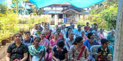 Monthi fest Celebration at Nithyadhar ward