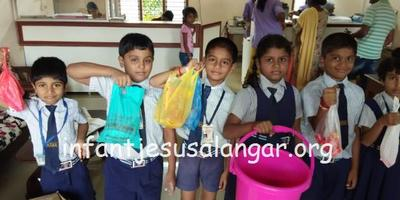 Flood relief material to KA mission