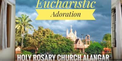 Video: Eucharistic Adoration by Fr Walter D'Souza