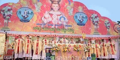 Annual Feast of Infant Jesus celebrated at Alangar Moodbidri